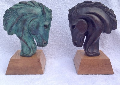 Equus-Bronze-Resin-18x14x6cm